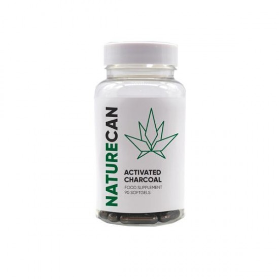 Naturecan Activated Charcoal Capsules - 90 Caps | CBD Meadows