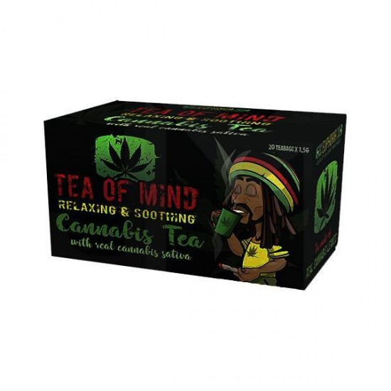 Cannabis Tea Of Mind (20 Sachets) | Online Vape Store UK